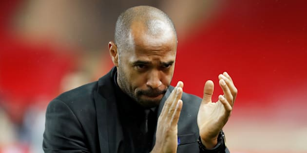 Thierry Henry au stade Louis II.