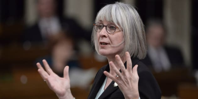 Labour Minister Patty Hajdu responds to a question during question period in the House of Commons on Nov. 22, 2018 in Ottawa.