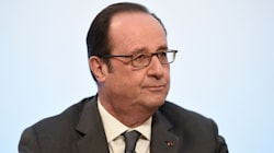 French President Hollande Fires Back At Trump Over Paris