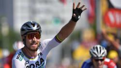 Coup double pour Sagan qui remporte la 2e étape du Tour et prend le maillot