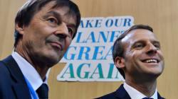Emmanuel Macron joue au leader écolo à l'international, mais que vaut-il en France sur ce
