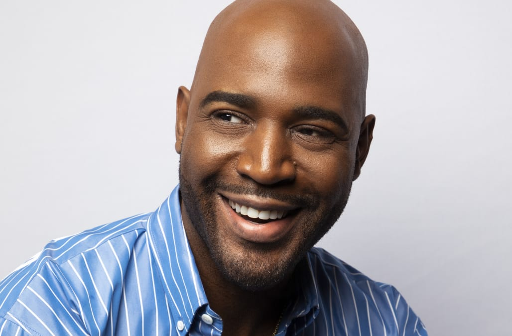 How 'Queer Eye' star Karamo Brown grew to embrace his baldness