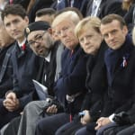 Trudeau, Macron Condemn Nationalism At WWI Armistice Event In
