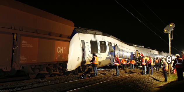 Une collision entre deux trains en Allemagne fait près de 50 blessés