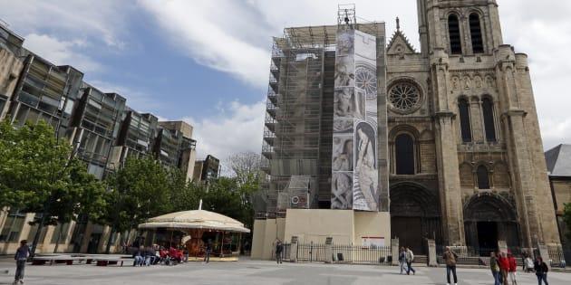 La basilique de Saint-Denis, au nord de Paris.