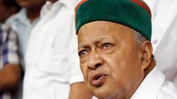 'Sarfaroshi Ki Tamanna Ab Humare Dil Mein Hai,' Says Himachal CM Virbhadra Singh Before ED