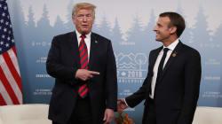 Trump défierait-il Macron au bras de fer?