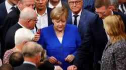 Angela Merkel a voté