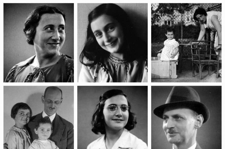 Anne Frank's Family.