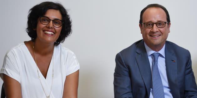 Myriam El Khomri et François Hollande en août 2016.