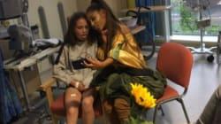 Ariana Grande s'est rendue au chevet des victimes de l'attentat de