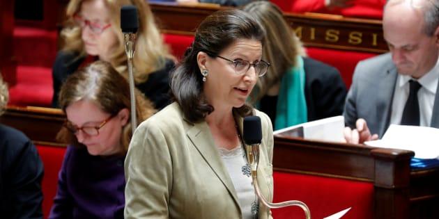 Agnes Buzyn à l'Assemblée nationale le 30 janvier.