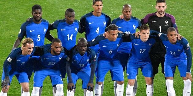 Les Bleus à la  FIFA World Cup 2018.