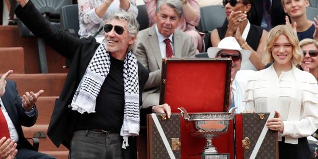 Finale de Roland-Garros: Roger Waters avait un message politique à faire passer dans les tribunes