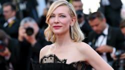 Cate Blanchett envoûte le tapis rouge du Festival de