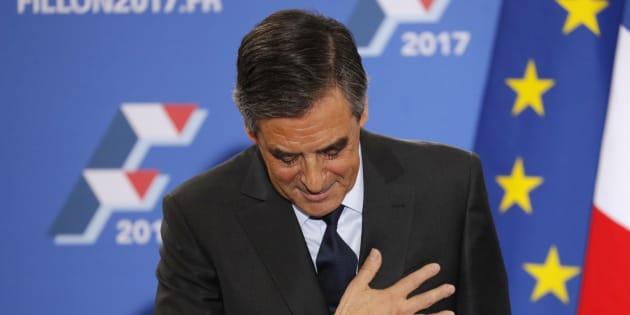 François Fillon pendant sa campagne victorieuse à la primaire de la droite