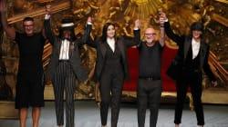 Naomi Campbell et Monica Bellucci en mannequins stars de