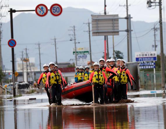 50 killed, 200 injured after typhoon slams Japan