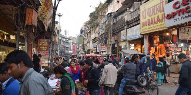 Chandni Chowk, le vieux quartier de New Delhi en Inde