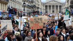Des dizaines de milliers de manifestants à la Marche des lycéens pour le climat en