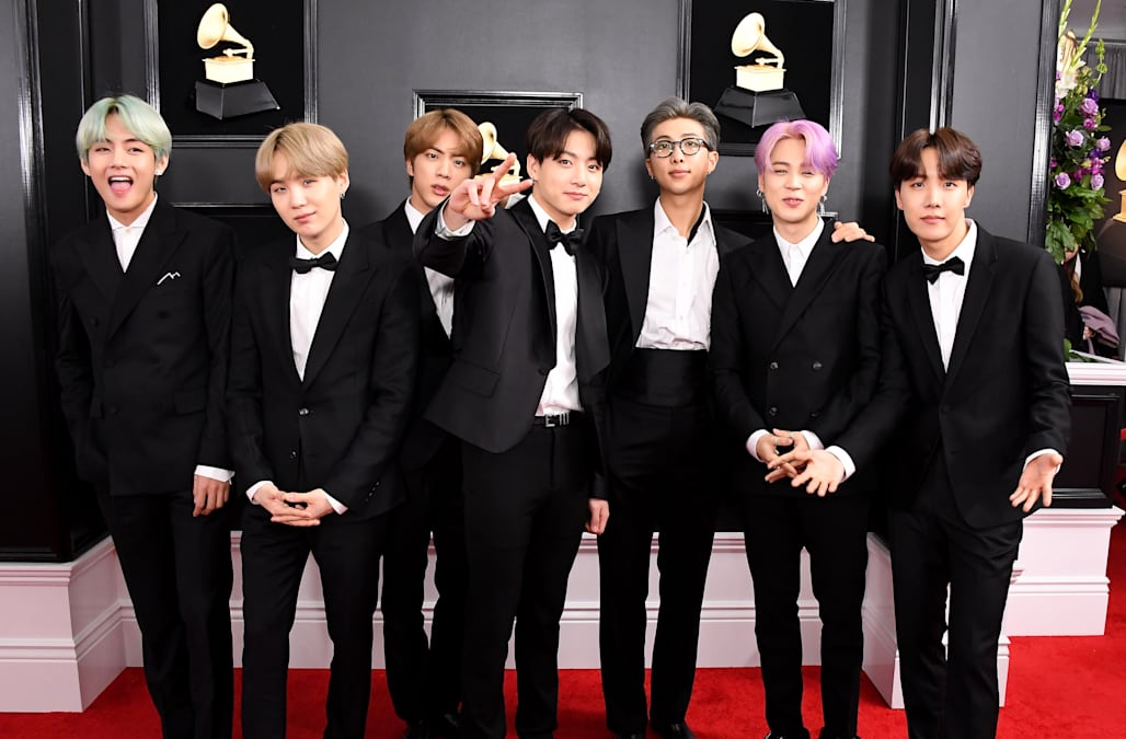BTS wins first VMA in controversial K-Pop category - AOL