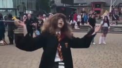 Cette video d'Hermione Granger qui danse est