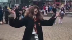 Cette vidéo d'Hermione Granger qui danse est