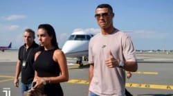 Ronaldo approfitta della finale dei mondiali per arrivare di nascosto a