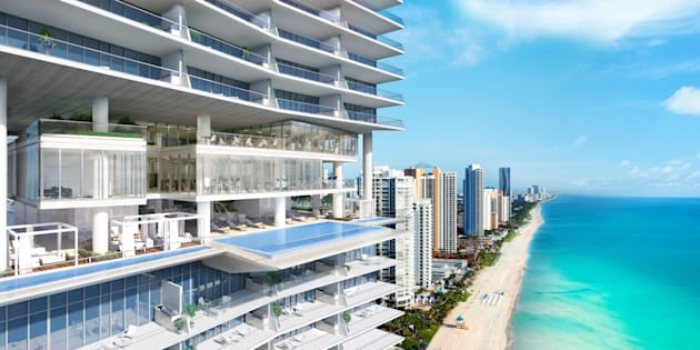 Compradores mexicanos adquirieron el 40% del complejo Turnberry Ocean Club, ubicado en Sunny Isles Beach, en Miami.