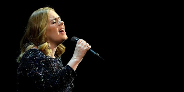 Adele performs at SportPaleis on June 12, 2016, in Antwerp, Belgium.