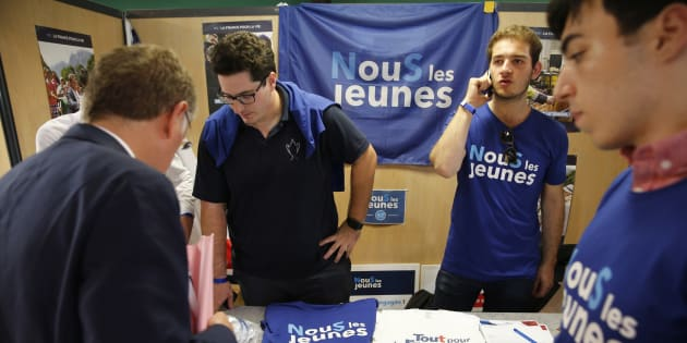 Nous jeunes Républicains, voulons être le premier mouvement jeune de France.