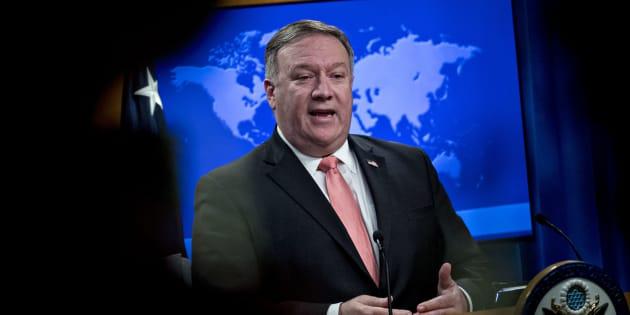 Le secrétaire d'État américain Mike Pompeo a annoncé que la liste noire des personnes et entités concernées par les sanctions financières serait plus longue qu'avant l'entrée dans l'accord sur le nucléaire iranien.