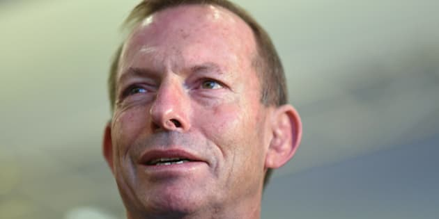 """I went over to shake his hand and he headbutted me. He wasn't very good at it, but he did make contact,"" Tony Abbott told 2GB radio on Thursday."