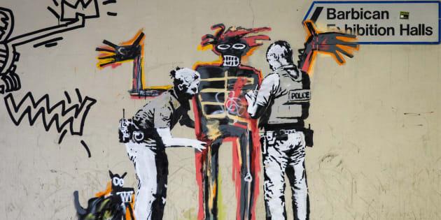 Aparecieron dos nuevos murales de Banksy en Londres