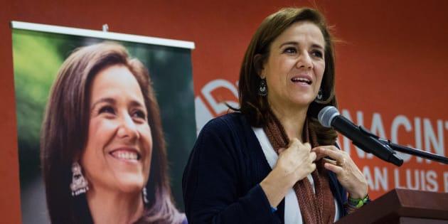 Margarita Zavala propone continuar persecución a grupos criminales
