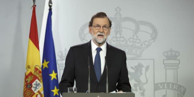 Le gouvernement espagnol veut dissoudre le Parlement catalan et lancer des élections régionales.