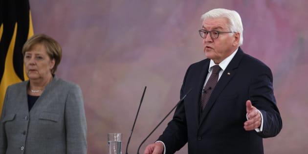 Allemagne: Le président Frank-Walter Steinmeier appelle au compromis et repousse des élections anticipées dans l'immédiat