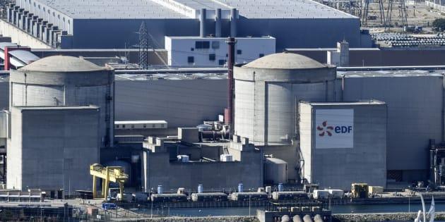 Une partie de la centrale nucléaire de Tricastin, située dans le Vaucluse et dans la Drôme.