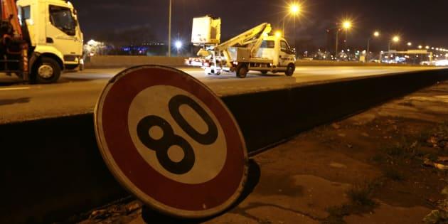La vitesse sur les routes secondaires sera bien baissée à 80km/h le 1er juillet.