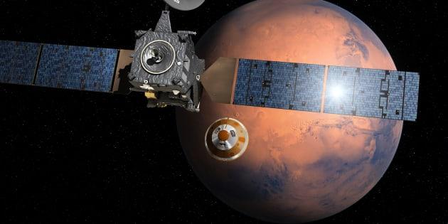 L'Europe veut se poser sur Mars