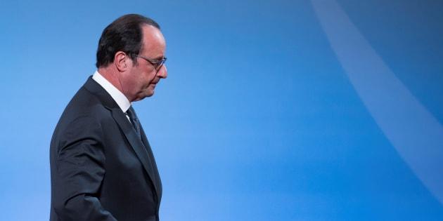 François Hollande, à l'Elysée le 29 novembre.