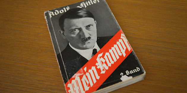 An edition of Mein Kampf from 1941