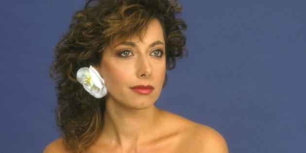 La chanteuse Rose Laurens, 26 mai 1983
