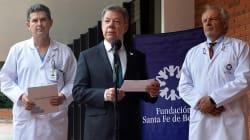 Santos viajará a EU para descartar una recaída del cáncer que padeció en