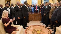 La pose ultracómoda de la asesora de Donald Trump se ha convertido en