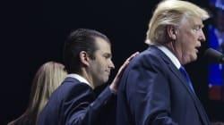 Le fils de Donald Trump a un argument massue pour défendre son
