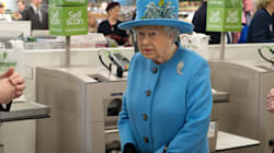 We Are All Queen Elizabeth II In This Self-Checkout