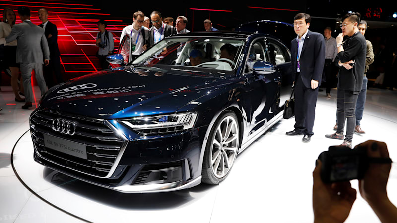 Billion Audi Plant Breaks Ground In China To Build Hybrids EVs - Volkswagen audi