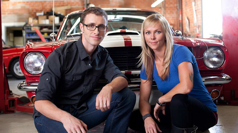 When a non-car guy cohosts the ultimate car guy's show