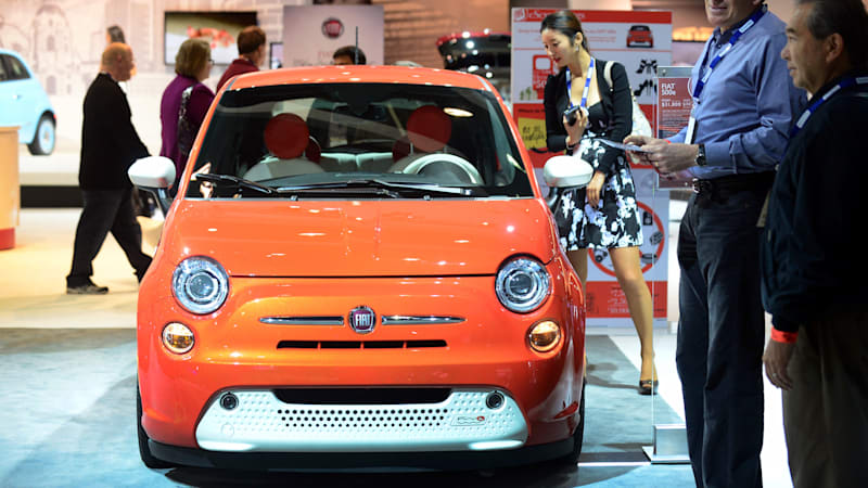 Cheap Car Lots >> Ultra Cheap Fiat 500e Evs About To Hit Used Car Lots Autoblog